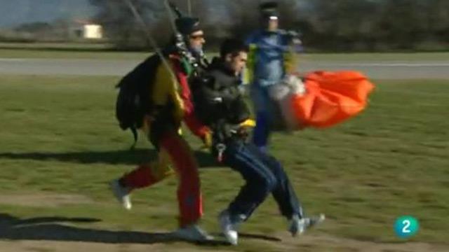 Tirarse en paracaidas