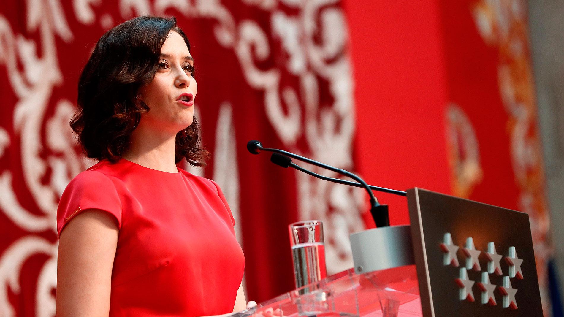 La toma de posesión de Díaz Ayuso reúne a la cúpula del PP