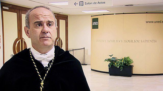 UNED -  Toma de posesión de Ricardo Mairal Usón como nuevo rector de la UNED. Entrega de los premios del Consejo Social 2018. Toma de posesión de los nuevos vicerrectores - 18/01/2019