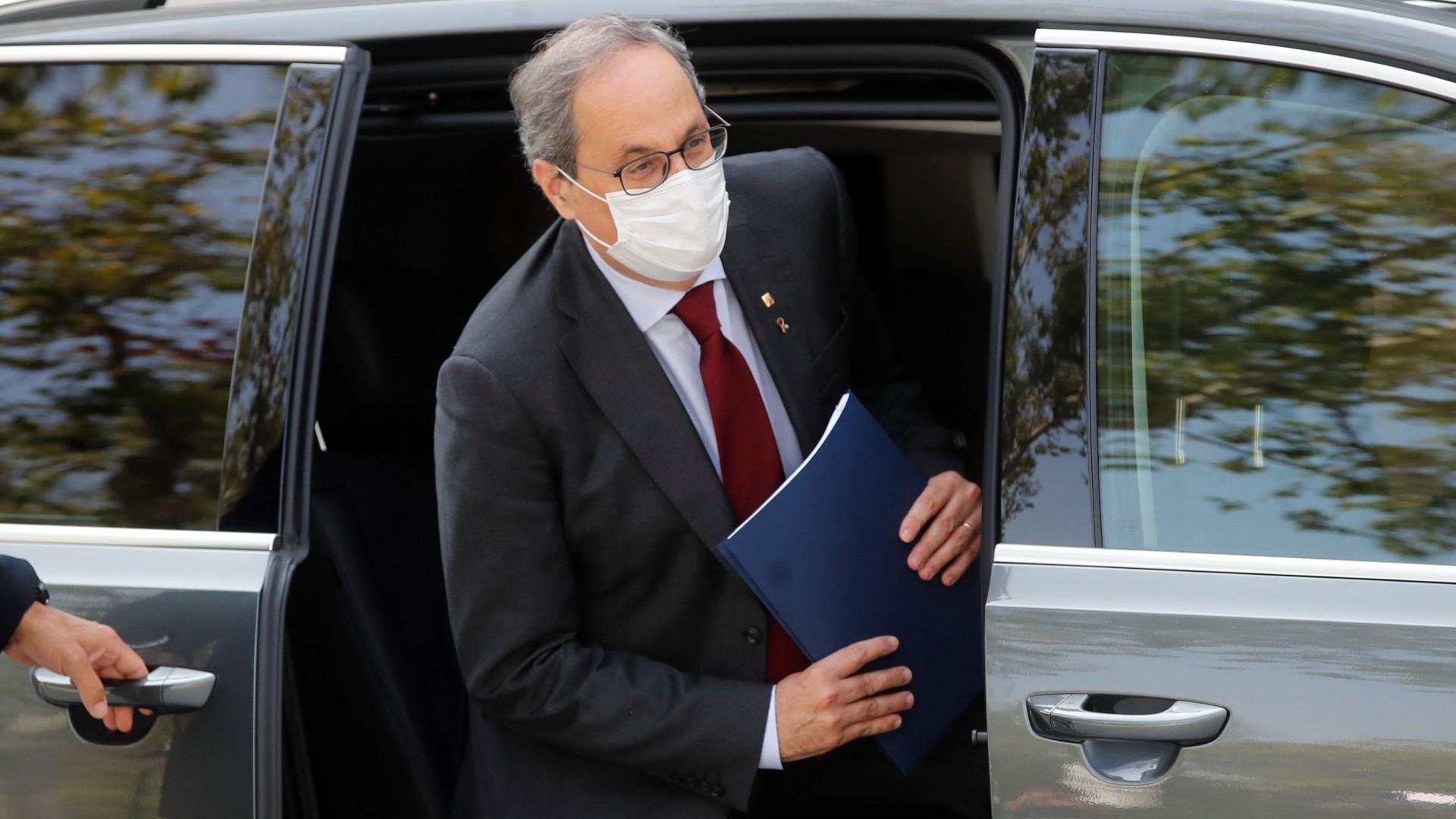 """Torra pide su absolución por """"falta de imparcialidad"""" y descarta convocar  elecciones antes del fallo del Supremo"""