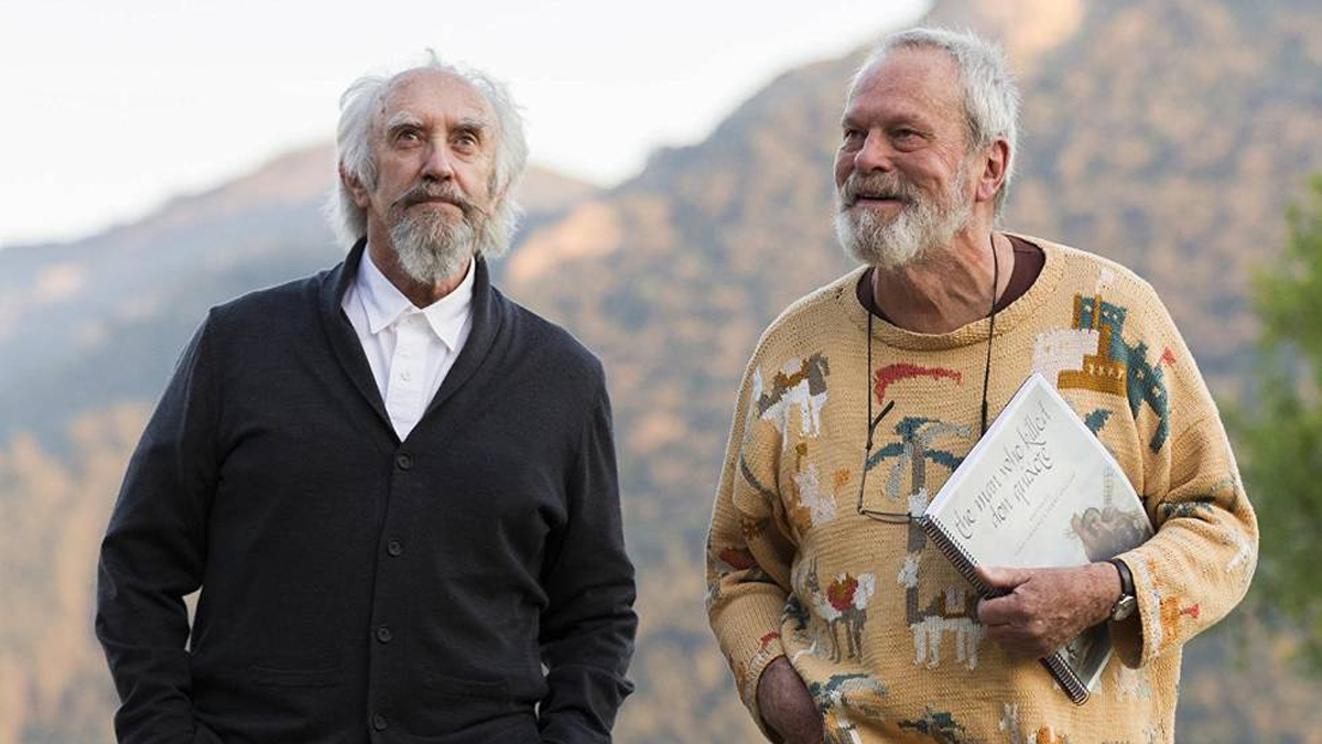 Trabajar a las órdenes de la quijotesca imaginación de Terry Gilliam