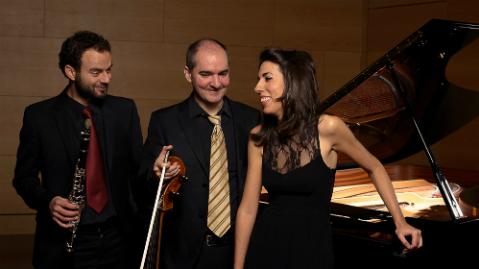 Estudio 206 - Trío Alborada (Patricia Araúzo, Aldo Mata y Miguel Expósito) - 09/03/18