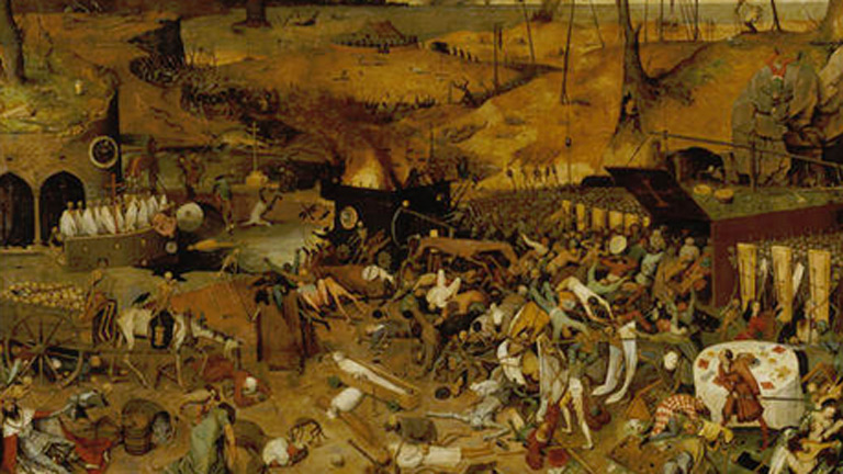 Mirar un cuadro - El triunfo de la muerte (Brueghel)
