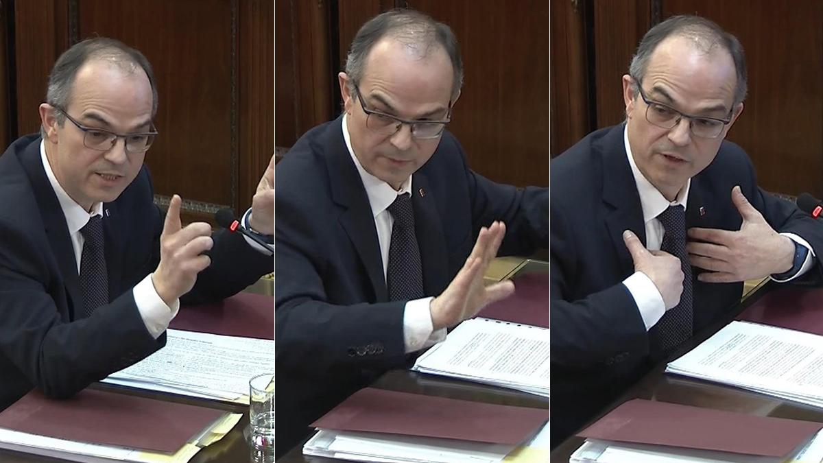 """Turull, en el juicio del """"procés"""": """"La DUI fue una expresión de una voluntad política"""""""