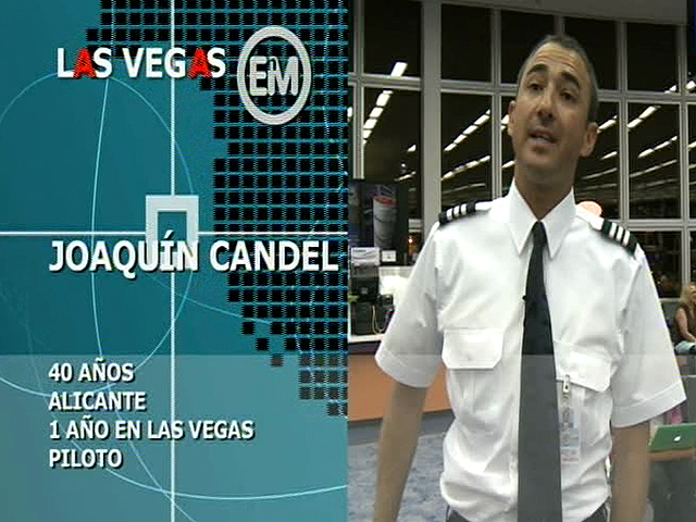 Españoles en el mundo - Las Vegas - Joaquín