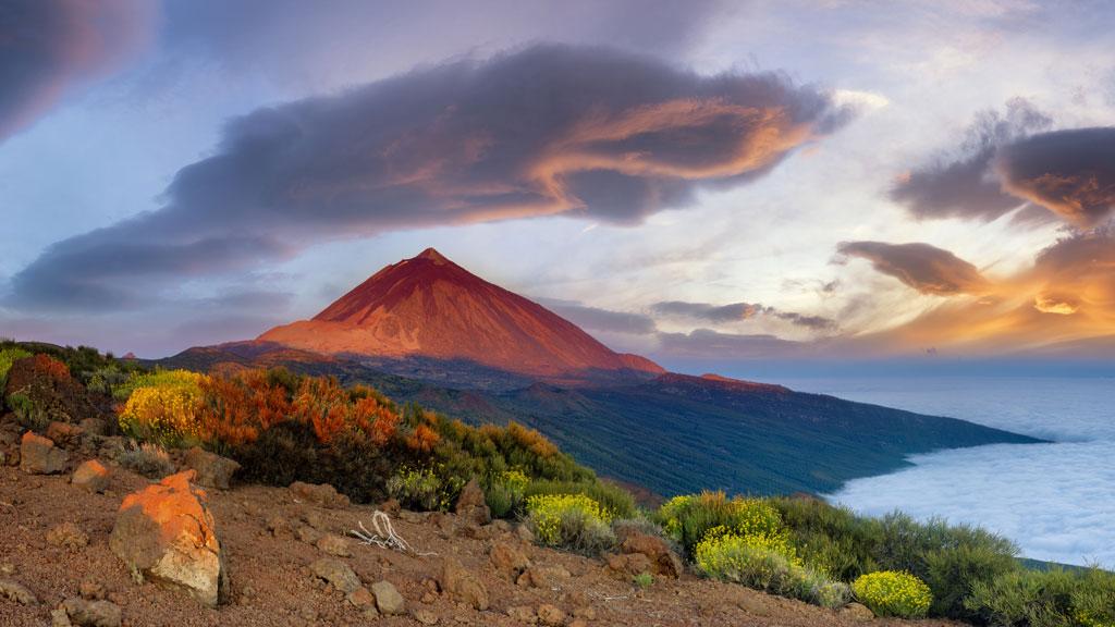 Viento fuerte del sur en Canarias y levante fuerte en el Estrecho