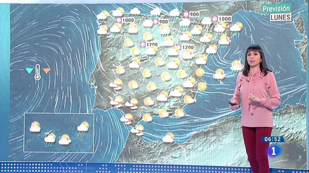 Viento fuerte hoy en el norte, este y Baleares y caída de las temperaturas