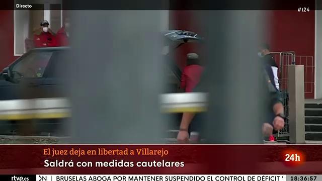 """Villarejo sale de la cárcel de Estremera: """"Me han tenido preso para que no hablara"""""""