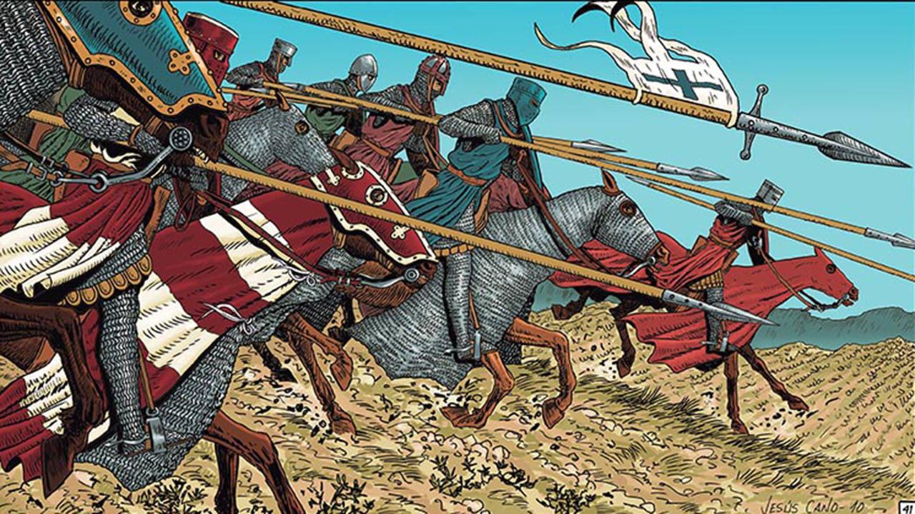 1212. Las Navas de Tolosa', un cómic histórico espectacular - RTVE.es
