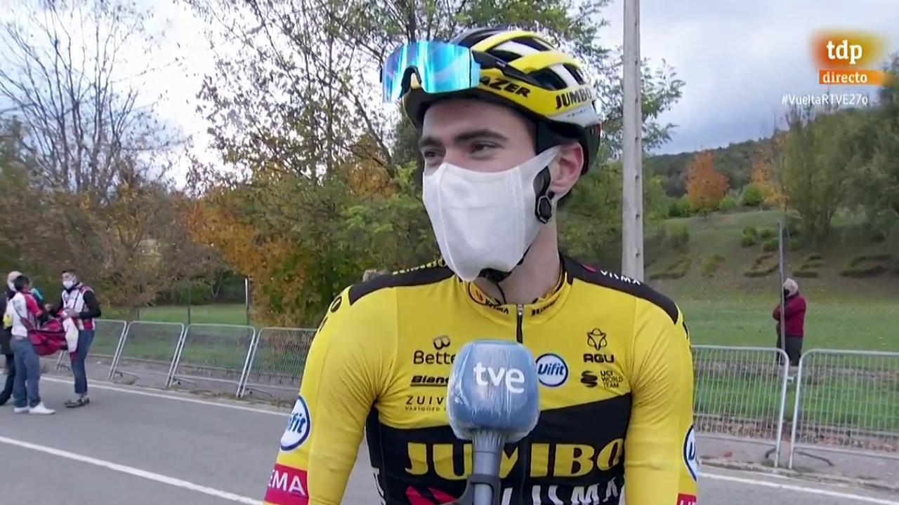 """Vuelta 2020   Dumoulin """"Me habría gustado haber estado mejor hoy"""""""