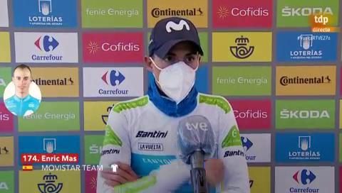 """Vuelta 2020   Enric Mas: """"Es positivo para el equipo tener tres bazas para la general"""""""