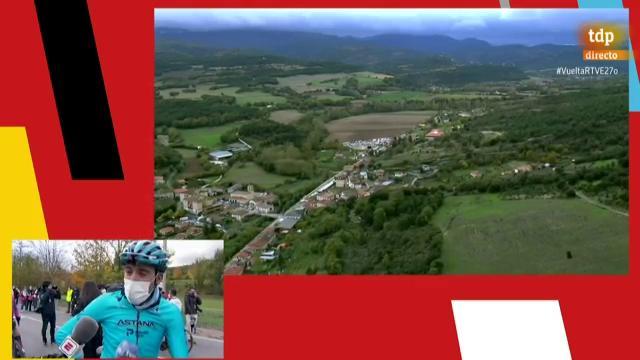 """Vuelta 2020   Omar Fraile: """"Me da pena no haber ganado; era un día que tenía marcado en el calendario"""""""