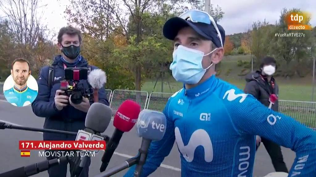 """Vuelta 2020   Valverde: """"Cuando eres el más vigilado, es muy difícil"""""""