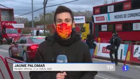 Vuelta 2020   Woods frustra a Valverde y Fraile
