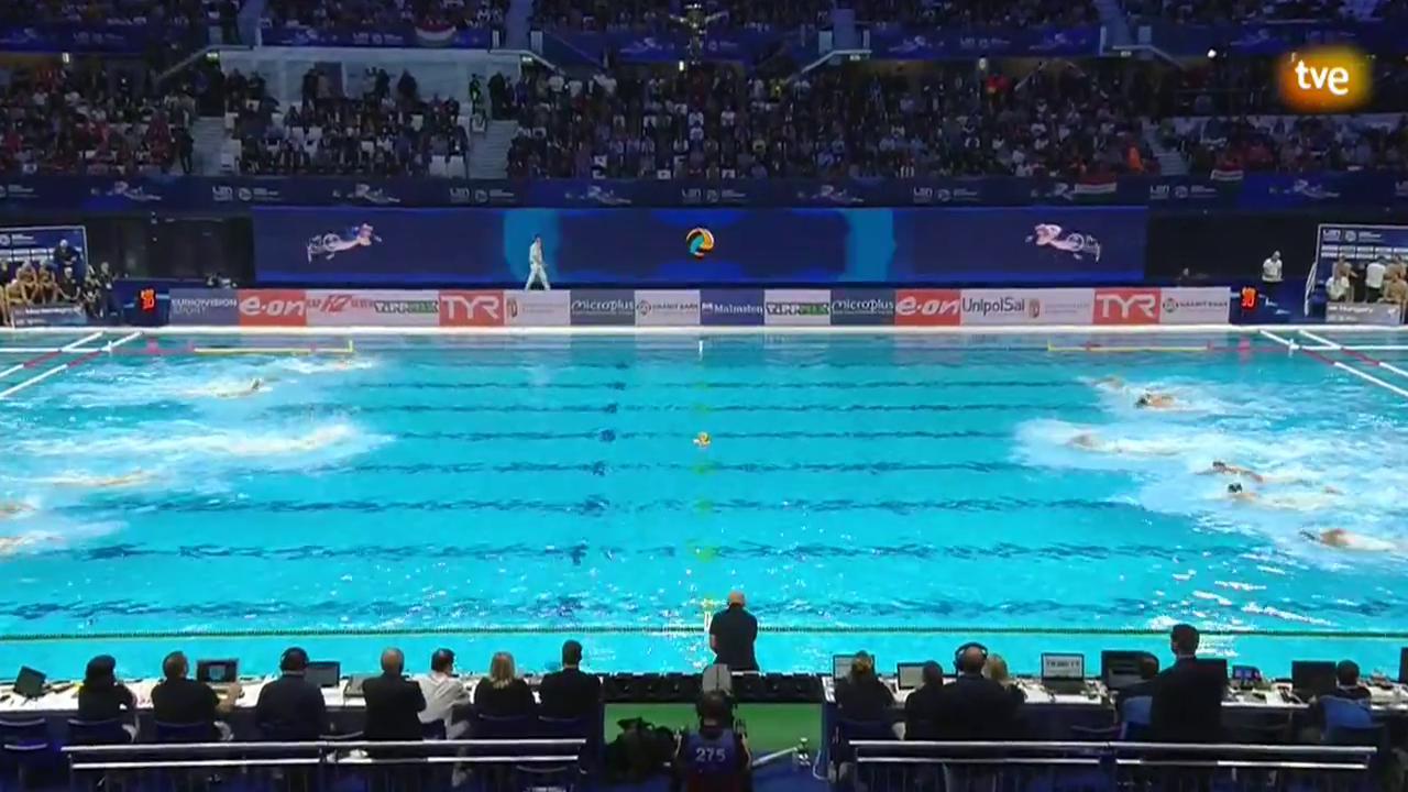 Campeonato de Europa Masc 2ª Semifinal: Montenegro - Hungría