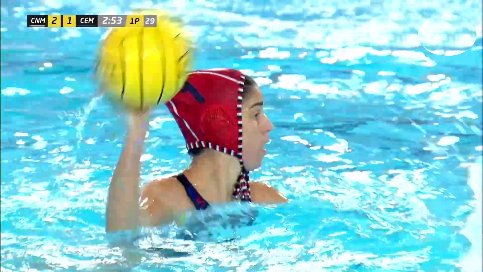 Copa la Reina, 1ª semifinal: CN Mataró - CE Mediterrani