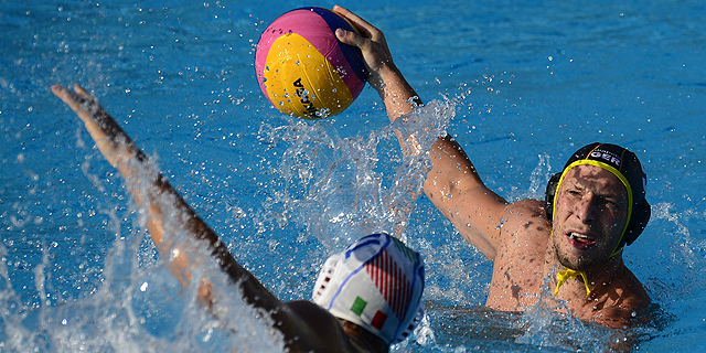Waterpolo masculino. Fase de grupos: Italia - Alemania