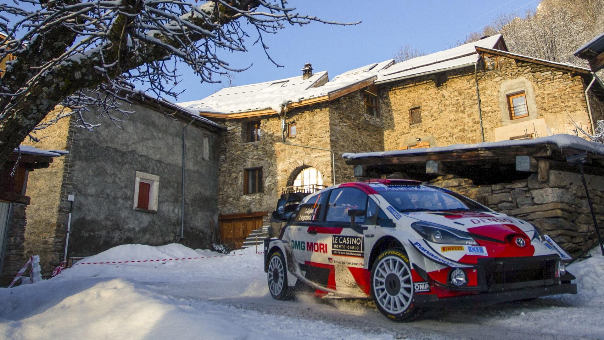 Campeonato del Mundo Rally Montecarlo