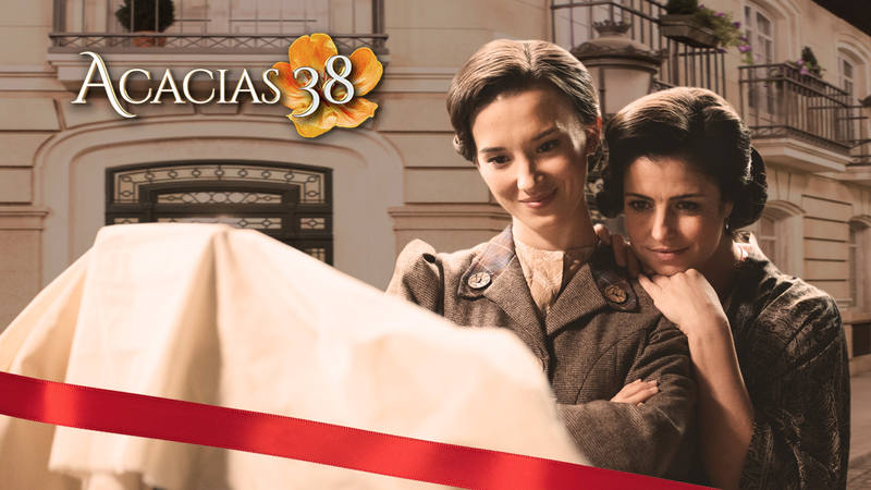 """Acacias 38 - Ylenia Baglietto y Aria Bedmar: """"Maite vuelve a 'Acacias 38' - rtve.es"""