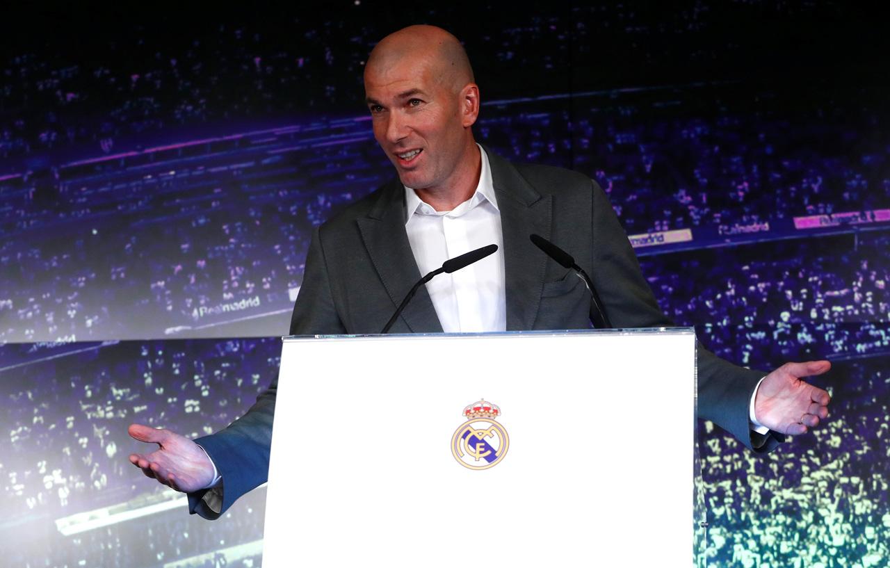 """Zidane: """"Después de ocho meses tengo ganas de volver a entrenar"""""""