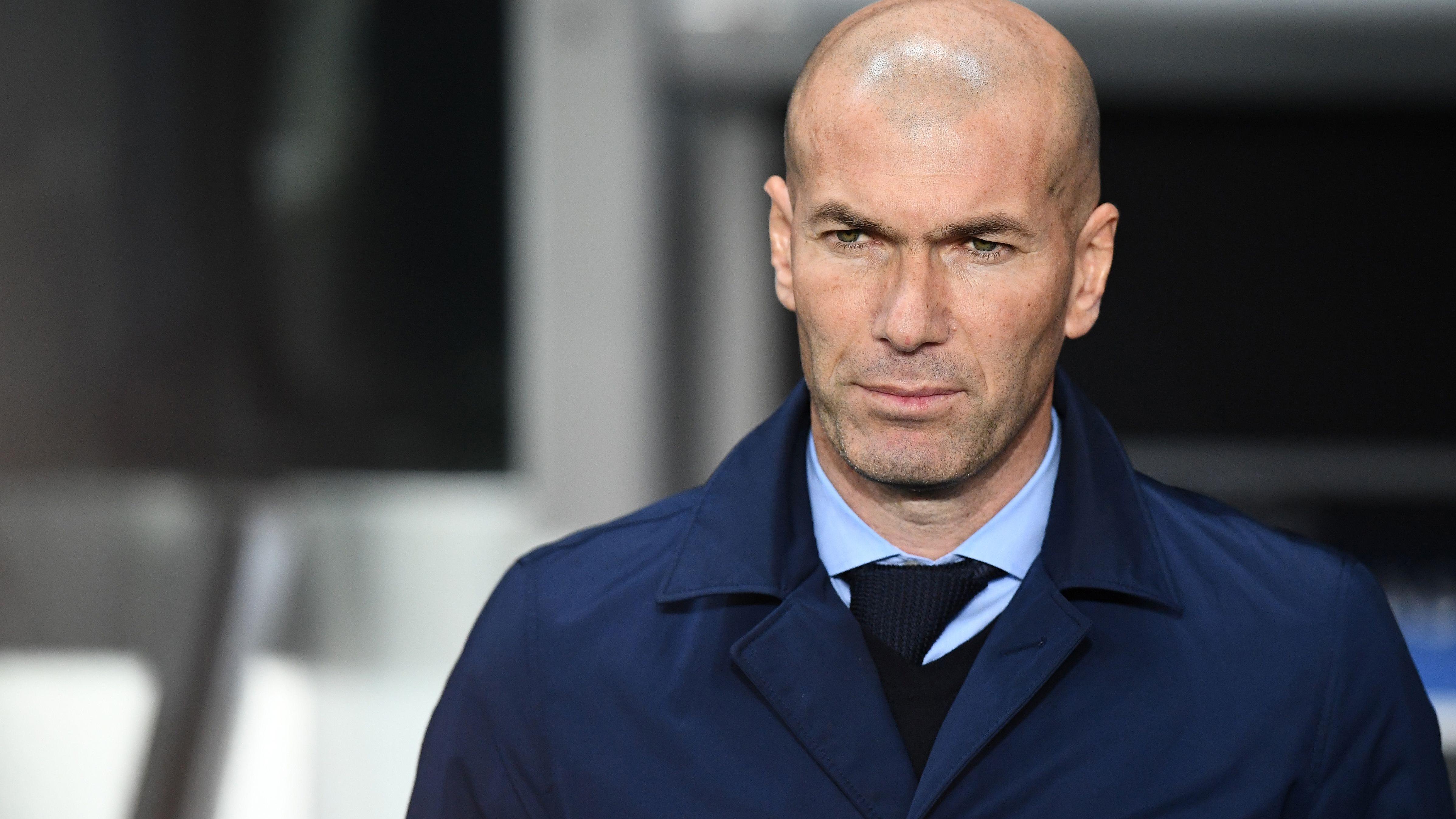 """Zidane: """"El mérito es de los jugadores"""""""