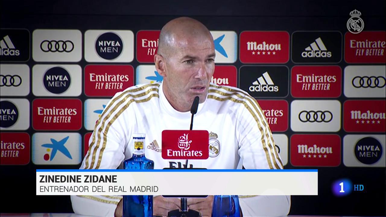 """Zidane no se siente """"cuestionado"""" pero asegura que """"si no es así, mejor salir"""""""