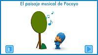 El paisaje musical de Pocoyó