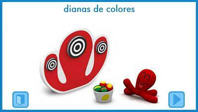 Dianas de colores