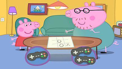 Las tres en raya con Peppa Pig