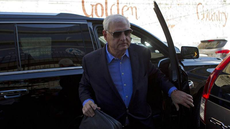 El expresidente Ricardo Martinelli, encarcelado en Panamá tras ser  extraditado por EE.UU.