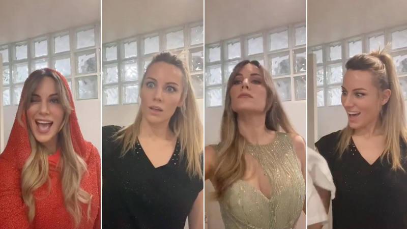 Edurne repasa los vestidos que ha lucido l RTVE