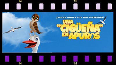 ¡Una cigüeña en apuros...esta semana en Cine Clan!