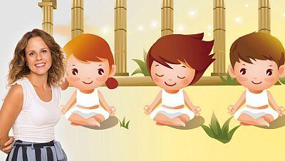 La estación azul de los niños - Yoga en familia