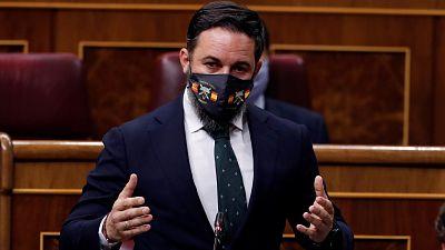 """Abascal reconoce que aún no tiene candidato para su moción de censura y se reafirma: """"Es el peor Gobierno en 800 años"""""""