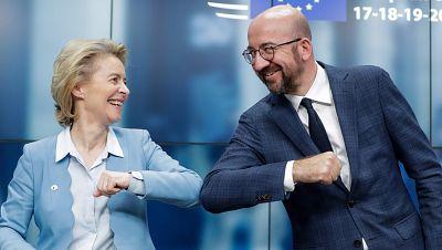Los Veintisiete pactan el mayor desembolso financiero de la historia de la UE para frenar la crisis del coronavirus