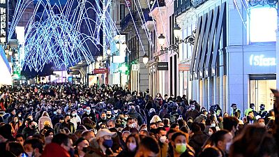 Aglomeraciones en las principales zonas comerciales del país en el primer fin de semana 'navideño' y de compras