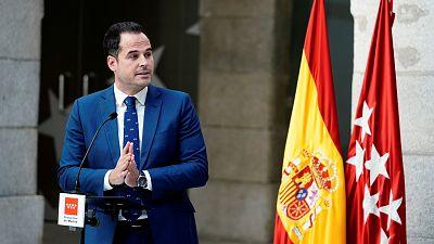 """Aguado dice contar con el apoyo de Arrimadas para ser el candidato de Cs: """"Madrid no puede estar en manos de Vox"""""""
