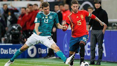 Alemania - España, una historia de duelos igualados y buen sabor de boca para la Roja