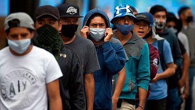 América en el foco del coronavirus: México, Perú y Colombia, los países con más 500.000 casos