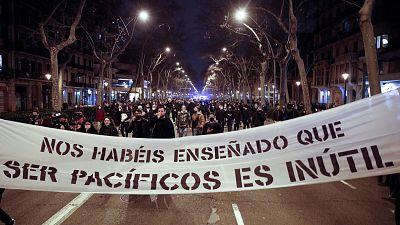 Rabia, frustración y decepción de los jóvenes, el caldo de cultivo detrás de las protestas en apoyo a Hasel