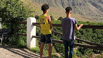 """La angustia de los menores migrantes que llegan solos a Canarias: """"No queremos escondernos, solo dejar una huella bonita en este país"""""""