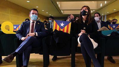Aragonès cede Economía, Exterior y Justicia a Junts en el nuevo Govern