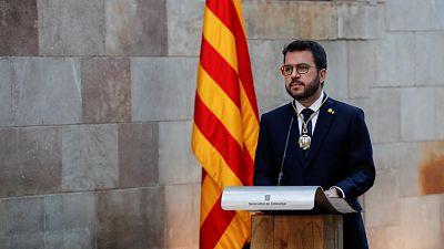 """Aragonès, sobre los indultos: """"Toda medida que alivie el dolor será bienvenida"""""""