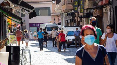 Un juez autoriza el confinamiento de la localidad burgalesa de Aranda de Duero por la alta incidencia de contagios