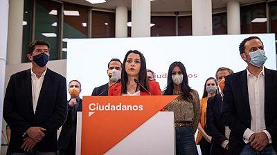 """Arrimadas renueva la cúpula y critica las dimisiones: """"Hay personas que están o estaban en Cs, pero no son de Cs"""""""