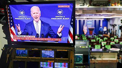 """Biden culpa a Trump del asalto al Capitolio: """"Nuestra democracia está bajo un ataque sin precedentes"""""""