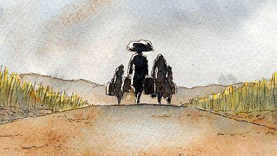 'Asylum', un cómic que nos recuerda que los españoles también fuimos refugiados