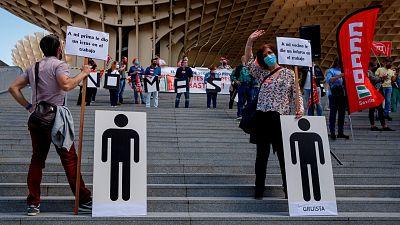 España registra un aumento de las muertes por accidentes laborales en 2020 pese al teletrabajo y los ERTE