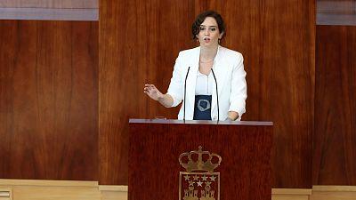 """Ayuso achaca los contagios en el sur de Madrid al """"modo de vida de la inmigración"""" y la densidad de población"""