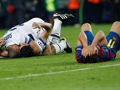 El Barça cae en la trampa de Mourinho